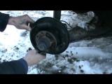 Как заменить задние тормозные колодки ВАЗ 21099