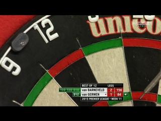 Raymond van Barneveld v Michael van Gerwen (2015 Premier League Darts / Week 11)