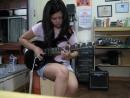Mariella Isabel - Fade to Black Intro + Outro Solo  Metallica Cover