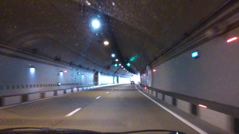 Выезд из Сочи по тоннелям HD