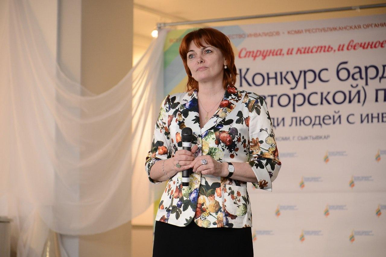Ольга Сосновская - член жюри