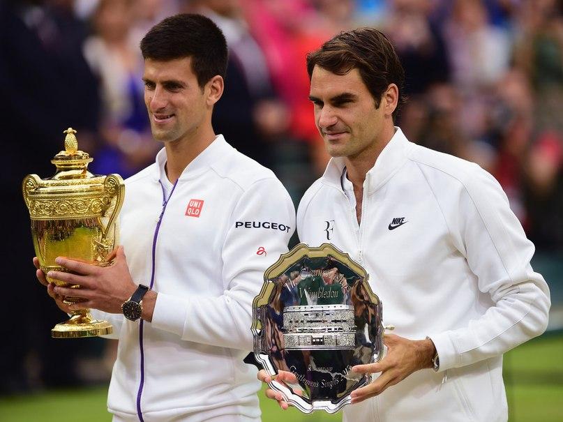 Федерер и Джокович в финале Уимблдона 2015