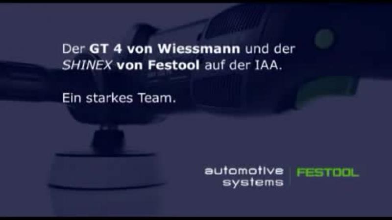 Festool Wiesmann - SHINEX auf der IAA