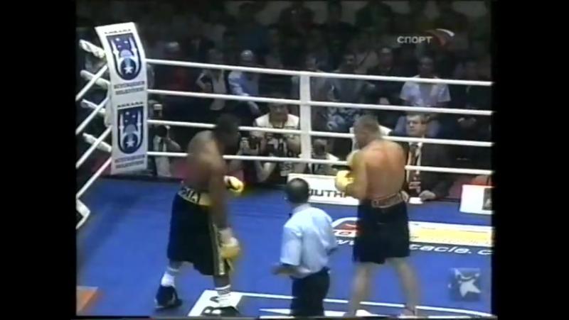 2007-06-16 Juan Carlos Gomez vs Denis Bakhtov (vacant PABA Heavyweight Title)