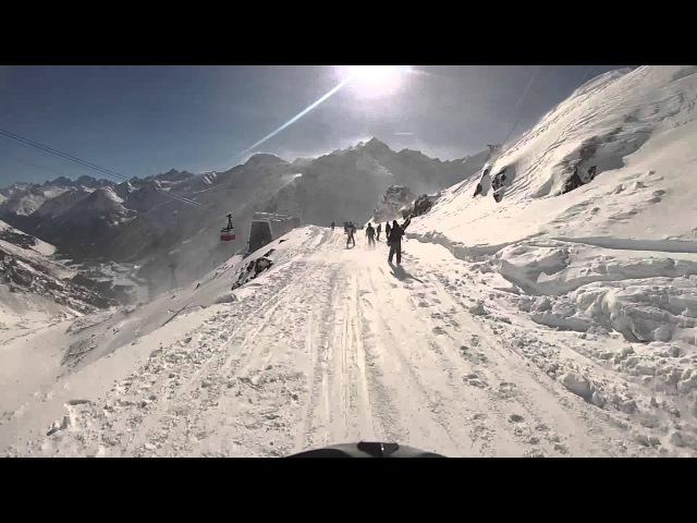 Эльбрус горные лыжи