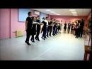 Мы сегодня на занятиях! Школа лезгинки САМУР 24.01.2015 Произвольный танец. Лезгинка видео. Как танцевать лезгинку. Уроки т