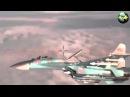 Российский истребитель СУ 27 Фланкер перехватил самолет НАТО Russian Su 27 Flanker and P 3 O