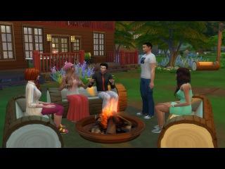 The Sims 4. Жизнь непредсказуема. Серия 1 Неожиданность