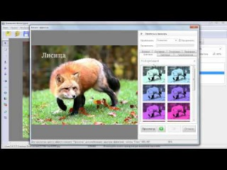 Программа для редактирования фотографий. Домашняя Фотостудия.