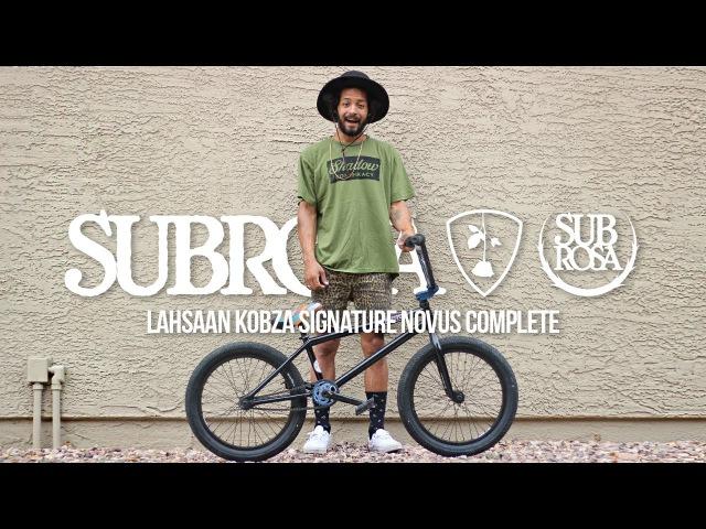 Subrosa Lahsaan Kobza's 2016 Novus Complete Bike