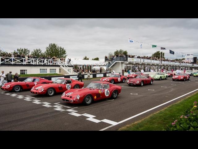 15x Ferrari 250 GTO at the Goodwood Revival!