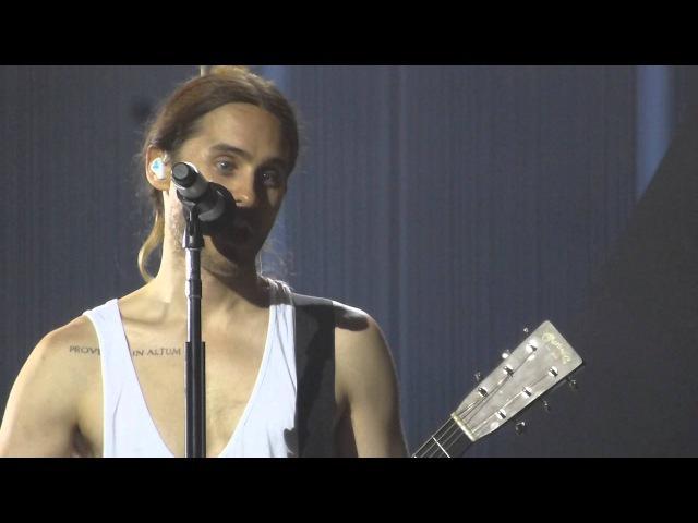 Jared Leto unplugged @ Le Zenith Paris, 30 Seconds to Mars, 18 Feb 2014