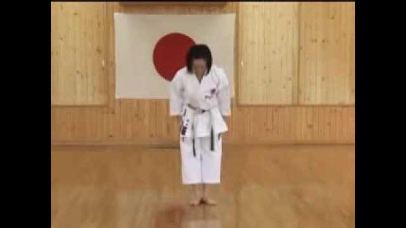 Heian Shodan JKA Shotokan Karate @KarateZine