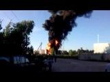 Пожар на нефтебазе в Василькове под Киевом. 08.06.2015