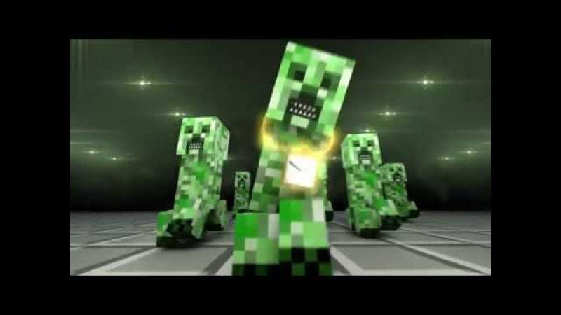 Самые смешные приколы в Minecraft 3 Криппер читает РЭП