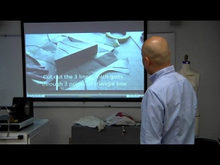 Pattern-Making Workshop with Shingo Sato   Parsons The New School for Design