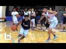 Michael Porter Takes On Dennis Smith Jr. In A Game Of One On One RAW Footage