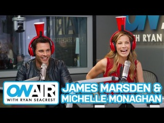 James Marsden & Michelle Monaghan Play Cup o' Secrets   On Air with Ryan Seacrest