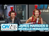 James Marsden & Michelle Monaghan Play Cup o Secrets | On Air with Ryan Seacrest