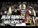 Florida State DB Jalen Ramsey SHUTS DOWN Dunk Contest!
