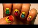 Рисунки на ногтях 6. Дизайн ногтей видео уроки.