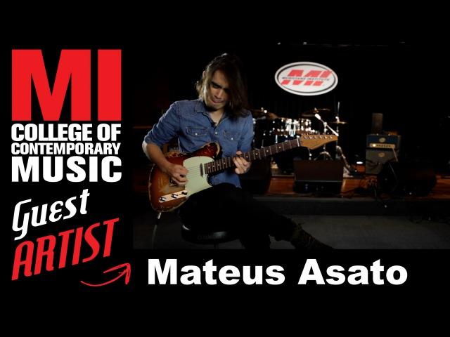 MI Alum Mateus Asato Advanced Guitar Techniques