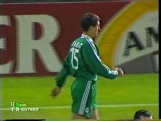 ЛЧ 2001-02. 1-4 финала. Первый матч. Панатинаикос - Барселона 2 часть