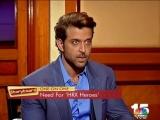 Ритик Рошан  в интервью Ананту Рангасвами, говорит о новом шоу
