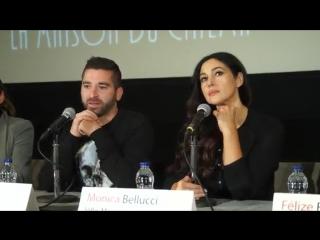 Monica Bellucci - Sherbrooke ( conférence de presse du film Ville-Marie 1.10.2015)