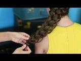 Diagonal French Loop Braid - Braided Hairstyles