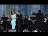 Российские звезды мировой оперы на Главной аллее ВДНХ (Москва, 01.08.2015)