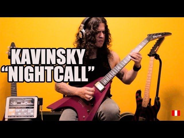 Nightcall (Kavinsky) goes metal by Charlie Parra - Drive soundtrack