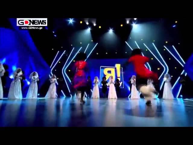 ქართული ცეკვა რუსულ შოუში და დაშოკებული შ