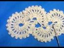 Ленточное кружево крючком разбор схемы вязания