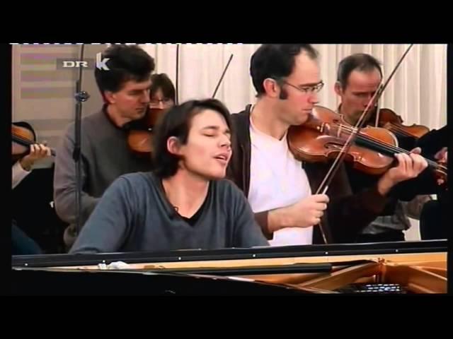 David Fray Largo Presto from Bach's Concerto No 5 in F Minor BWV 1056)