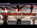 Darth Maul Training in Real Life | Flips Kicks | Star Wars