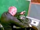 Первый урок на тренажере вождения. Инструктор по вождению жжет