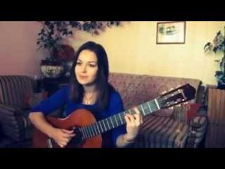 Таис Логвиненко - Я не буду забыта (девушка поет собственную песню под гитару)