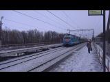 Электровоз ЭП1М-394 с поездом №089У