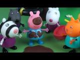 Мультик Свинка Пеппа на русском языке и домик на дереве. Поучительная история Pig Toys Show