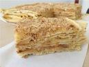 Торт Наполеон с Заварным Кремом (Вкусный, Домашний Рецепт) Napoleon Cake Recipe, English Subtitles