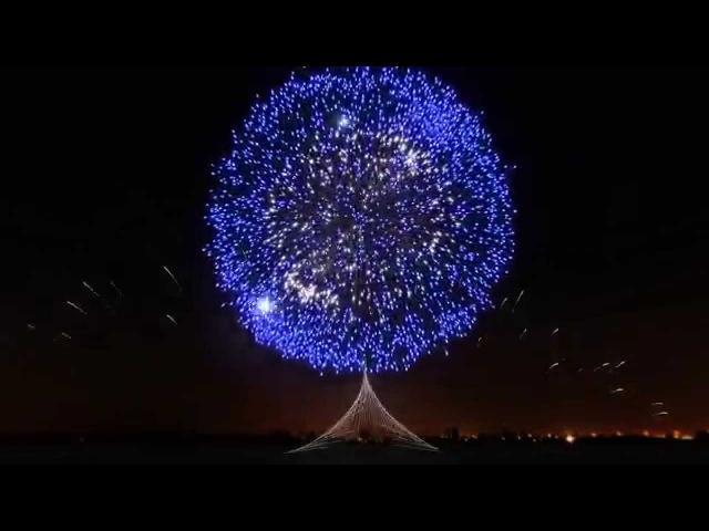 ►Le plus beau feu d'artifice du monde 4 ◄