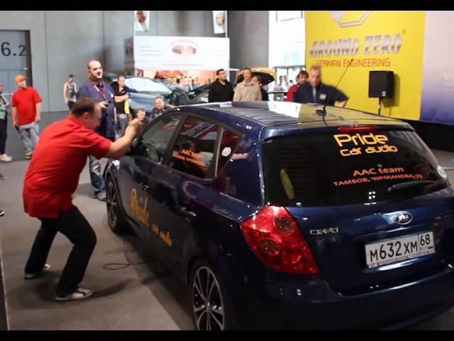 Чемпион Европы по автозвуку EMMA ESPL 2013