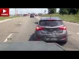 Сам себя наказал Hyundai i30 vs. Nissan Patrol (Киев, Kiev)