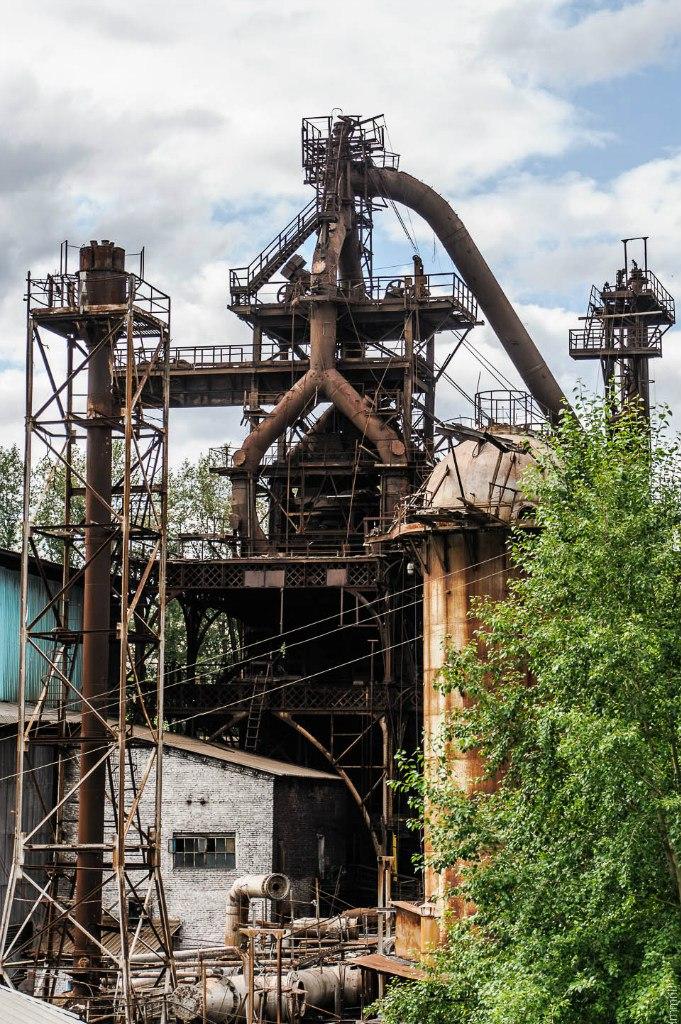 Доменая печь Пашиского завода