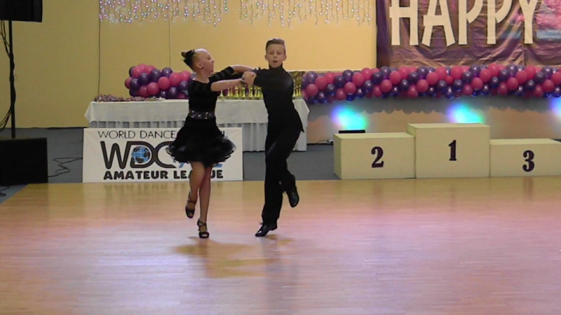 Happy Dance 08.11.2015г.Джайв Юниоры 1 D класс.