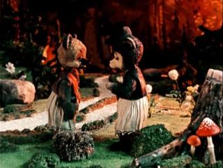| ☭☭☭ Советский мультфильм | Два жадных медвежонка | 1954 |