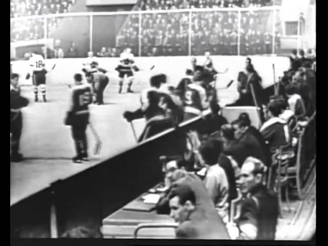 Hockey SSSR Canada 1960. Сборная клубов СССР - Chatham Maroons (Канада). Второй матч.