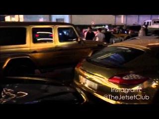 Dubai Mall V.I.P. Valet Parking 2015 - GOLD CARS & Many More!