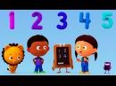 Учимся считать Цифра 5